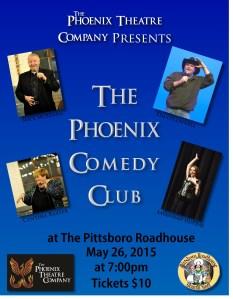 Jessica Phoenix Comedy Club Flyer